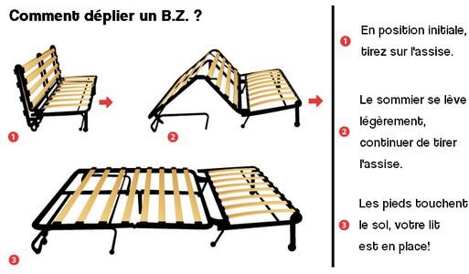 canap s convertibles bz banquette bz parfait pour un gain de place. Black Bedroom Furniture Sets. Home Design Ideas