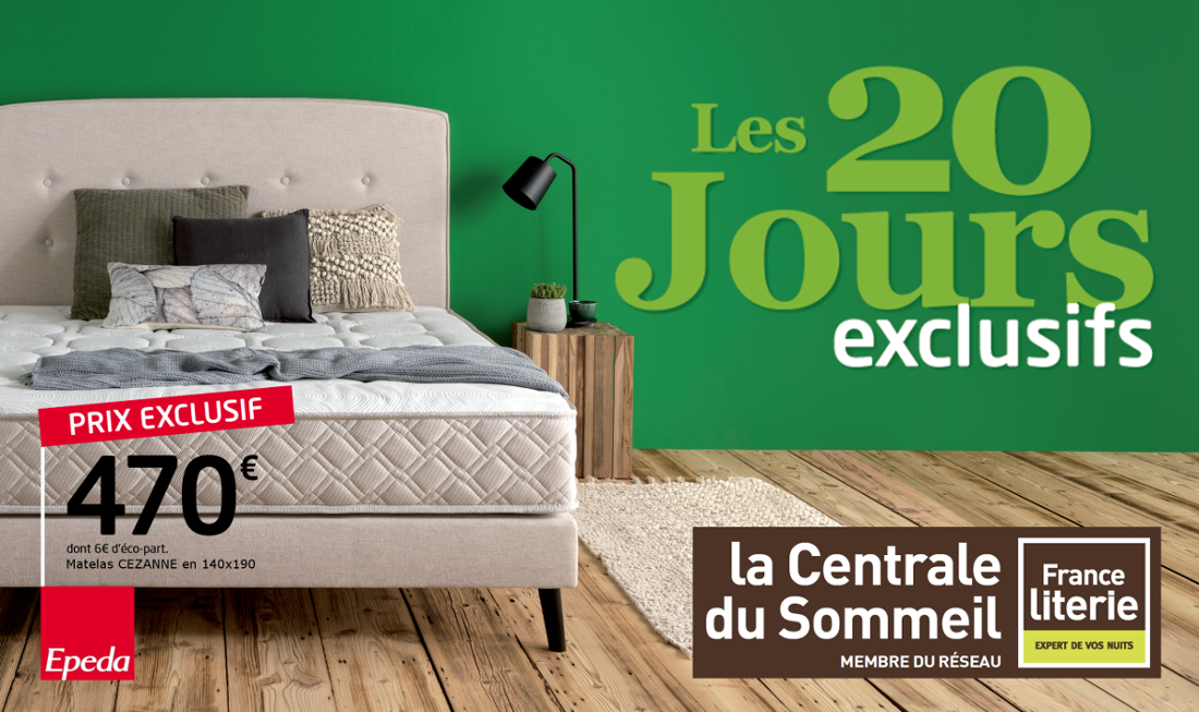 actualit s de la centrale du sommeil magasin literie rennes. Black Bedroom Furniture Sets. Home Design Ideas