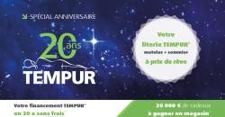 Les 20 ans Tempur